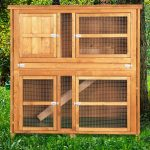 Home and Roost Double Hutch