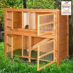 Home and Roost 2 Storey Double Hutch